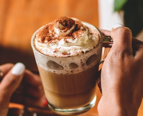 Cafe Casa hot chocolate now available.