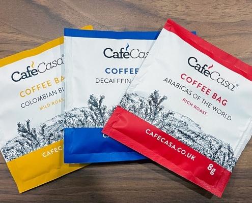 Cafe Casa coffee bags!